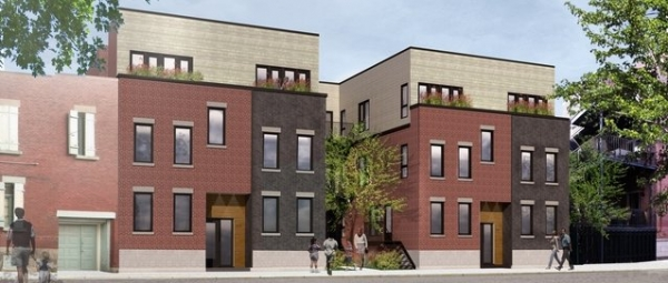 Cours Garneau, condos sur le Plateau