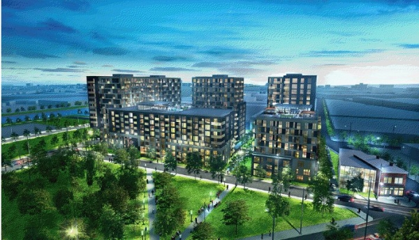 District Griffin 02, un complexe cl� en main entour� de parcs