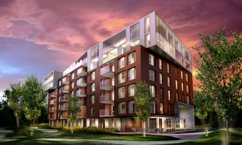 SAX- Mont-Royal - Phase II, condos contemporains � vendre