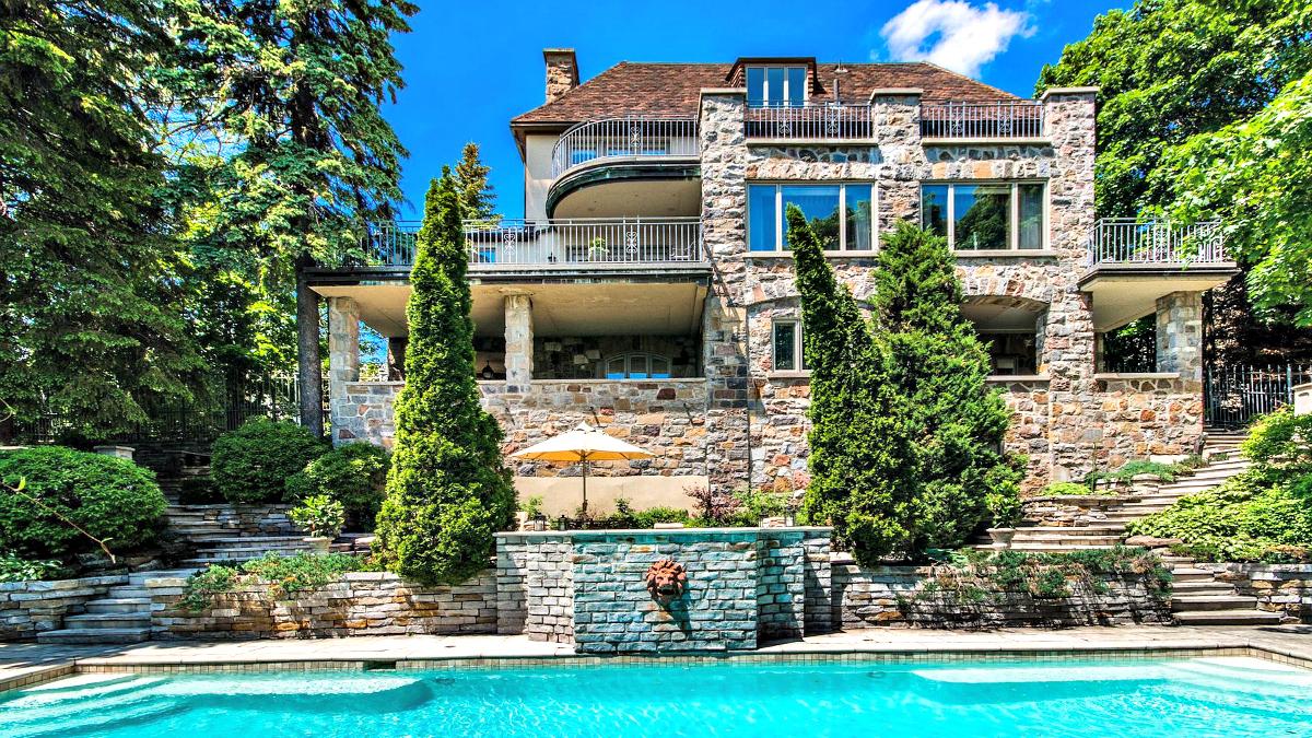 À vendre: les 9 maisons les plus plus chères à Montréal ...