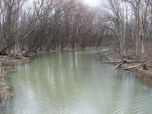 Rivière à l'orme pierrefonds