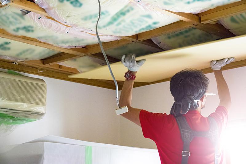 plafond maison neuve