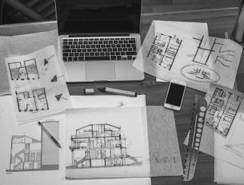 black-and-white-interior-macbook-drawing-71983