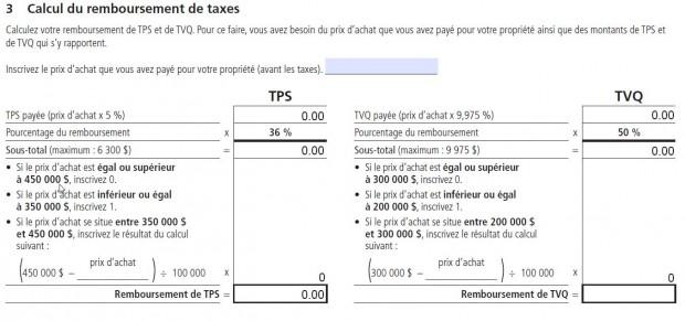 fp-2190a Calculs de remboursement
