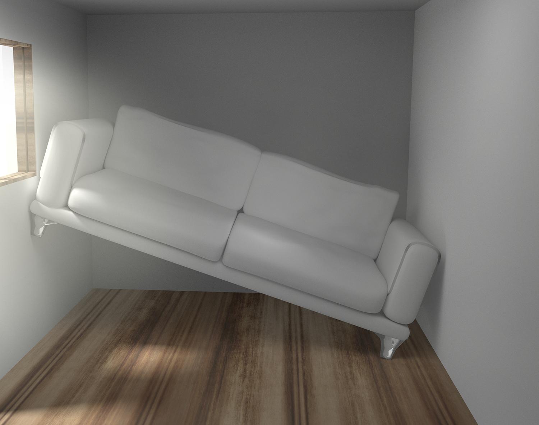 Platzprobleme im zu kleinen Wohnzimmer