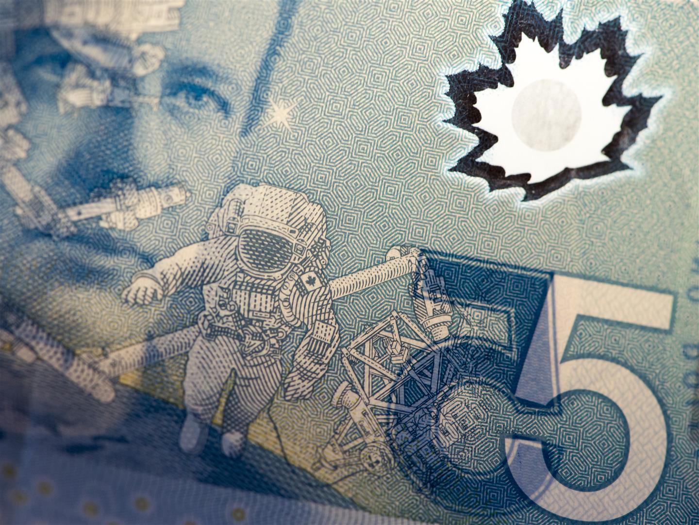 billet de 5 dollars