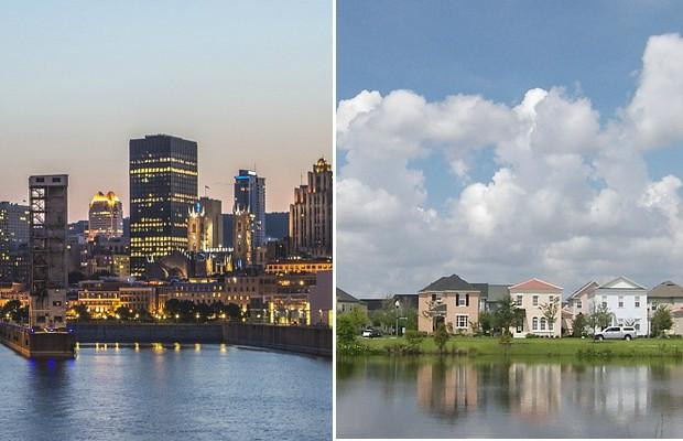 ville ou banlieue