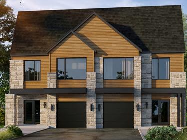 Les Jardins du Coteau - Maisons par Constructions Lacourse - Maisons neuves à L'Épiphanie: 250001$ - 300000$