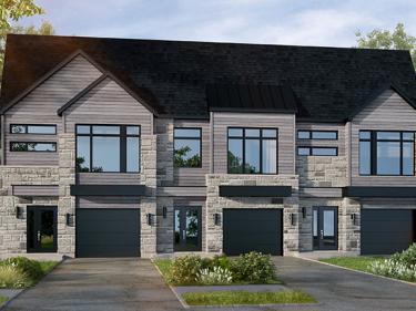 Les Jardins du Coteau – Maisons par Constructions Lacourse - Maisons neuves dans Lanaudière en prévente