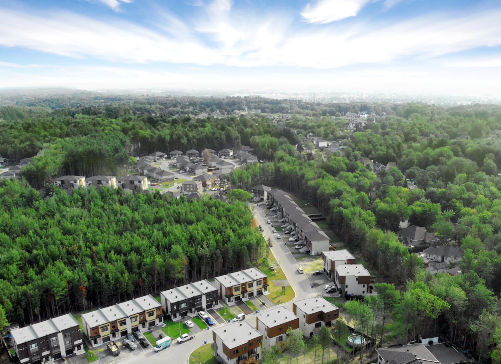Les Jardins Du Coteau Townhouses By Habita Nord Est