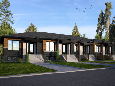 Les Éclusiers by Cité Beauharnois - New houses in Beauharnois in delivery