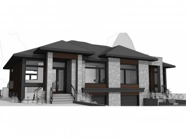 Otterburn Park Project - New houses in Saint-Paul-d'Abbotsford with model units in delivery: $350 001 - $400 000