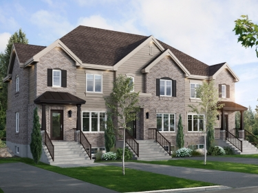 Vallée St-Joseph - New houses in Saint-Joseph-du-Lac