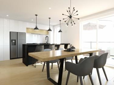 Le 232 Avenue Laval - Condos neufs à Laval-des-Rapides avec unités modèles: 3 chambres