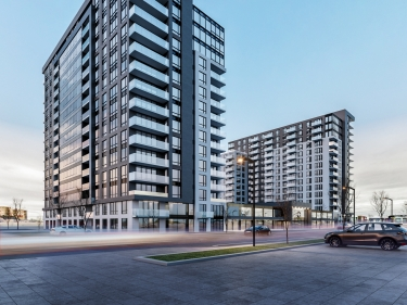 Equinoxe Daniel Johnson - New Condos and Appartments for rent in Laval