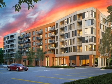 Wilfrid Condos - New condos in Dollard-des-Ormeaux with elevator with pool: 2 bedrooms, $450 001 - $500 000
