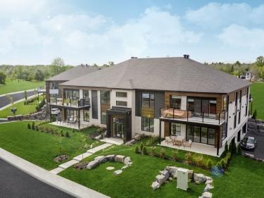 DMI Le Riviera - Condos neufs à Granby en construction