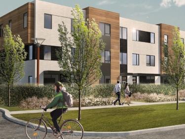 Urbanova - Noüvo District par Groupe Mathieu et Groupe Houde - Maisons neuves à Saint-Damien: 300001$ - 350000$