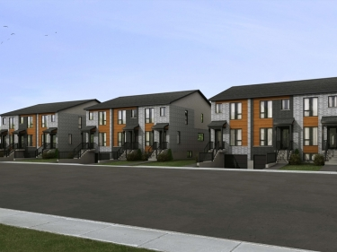 Le Grant II - New houses in Boucherville in presale in delivery near a train station