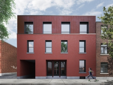 Sud-Ouest Project - New condos in Saint-Henri with elevator with garage with pool