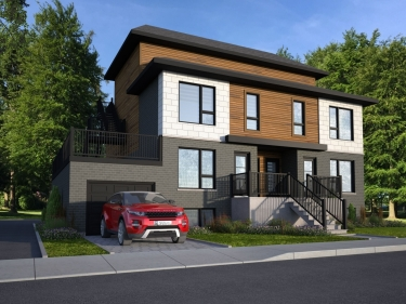Le 81 Avenue Laval - New condos in Laval-des-Rapides currently building