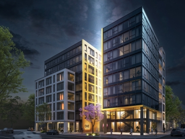 ONE Viger - New condos in Old Montreal with elevator near a train station with pool