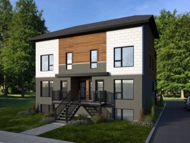 Le 63 du Parc - Condos neufs à Laval-des-Rapides en prévente en construction