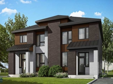 Bourg St-Joseph - Semi-detached Homes - New houses in Saint-Joseph-du-Lac