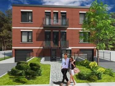 Le De Lille - New condos in Montréal-Nord with elevator with garage with pool