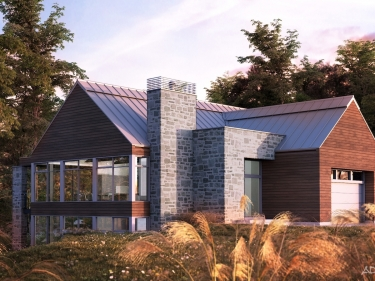 Sommet la Marquise - New houses in Saint-Sauveur currently building: > $500 001
