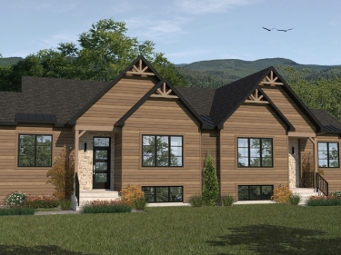 Domaine Vert-Plante - New houses in Sainte-Marguerite-du-Lac-Masson in delivery: 2 bedrooms