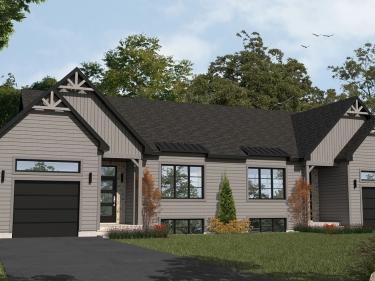 Domaine Vert-Plante - Maisons neuves à Val-David: 250001$ - 300000$