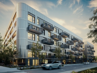 Cité Angus II - New condos in Rosemont with elevator with garage with pool: $350 001 - $400 000