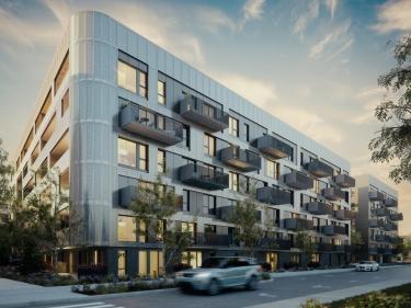 Cité Angus II - Condos neufs à Parc-Extension: 1 chambre, 250001$ - 300000$