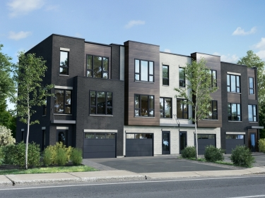 Le Mosaic - Townhouses for Sale - New houses in the Village: 3 bedrooms, $450 001 - $500 000