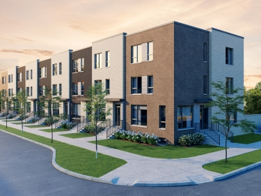 Avia - Townhouses - New houses in Saint-Laurent: 4 bedrooms and more