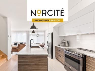 Norcité - Townhouses - New houses in Terrebonne: $300001 - $350000