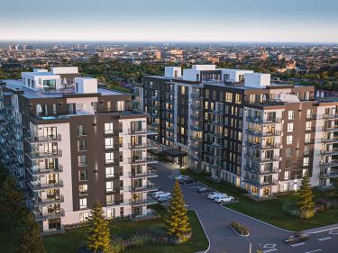 Baldwin Condos & Penthouses - Condos neufs à Pointe-Claire: 400001$ - 450000$