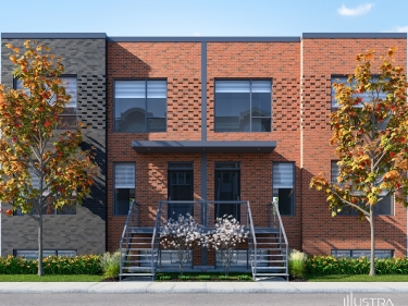 Le Rosepatrien - Condos neufs à Duvernay en construction: 450001$ - 500000$