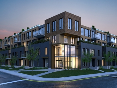 GAÏA - New condos in LaSalle with model units currently building