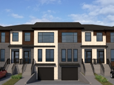 Longueuil - New Semi-Detached - New houses in Fossambault-sur-le-Lac: 3 bedrooms