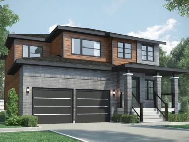 Nouveau Champfleury - phase 4 - New houses in Laval in delivery: 4 bedrooms and more