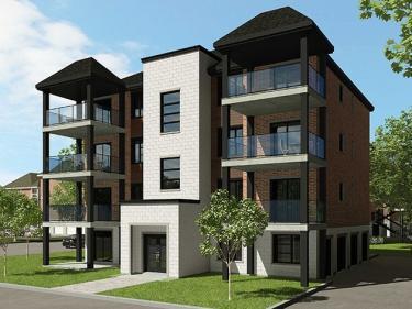 Condos Le Haut Corbusier - Condos neufs à Duvernay en construction