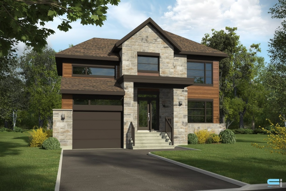 La seigneurie de mirabel phase 5 single family homes for Modele architecture maison