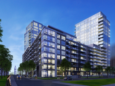 Le Solano - phase 8 - New condos in Old Montreal with elevator near a train station with pool