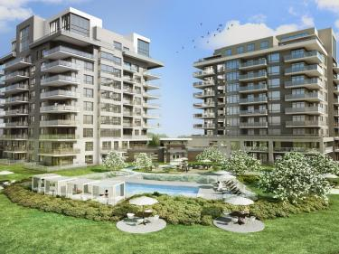 RosaNova - New condos in Laval: 4 bedrooms and more