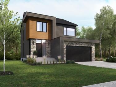 Le St-Augustin - houses by Habitations Concept Dub - New houses in Quebec: $200 001 - $250 000