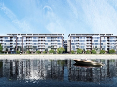 Le Canal 2 - New condos in Verdun with elevator with garage with pool: $350 001 - $400 000