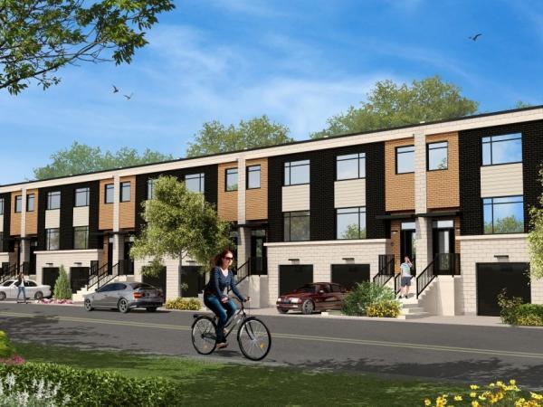 Les maisons de ville nouveau chomedey houses in chomedey for Vert urbain maison de ville