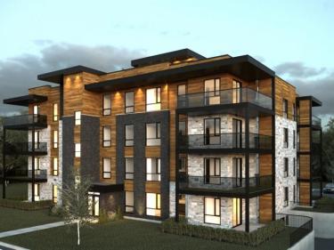 Cité 7 - phase 2 - Condos neufs sur la Rive-Nord en construction: 2 chambres